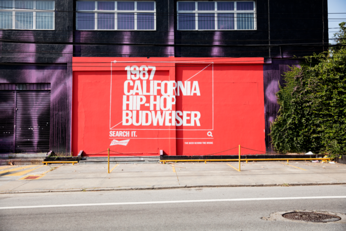 Budweiser Plays Up its Music Cred in Search-Oriented OOH Campaign
