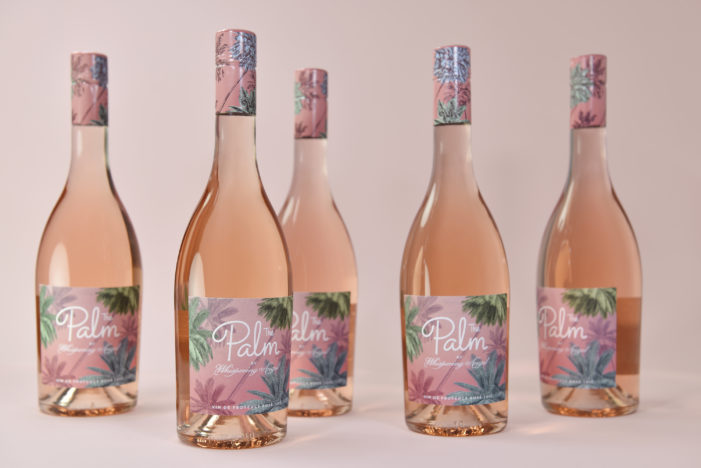 Design Bridge create evocative branding for The Palm: the new rosé from Whispering Angel