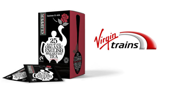 Clipper Teas Speeds to Success with Virgin Trains Deal