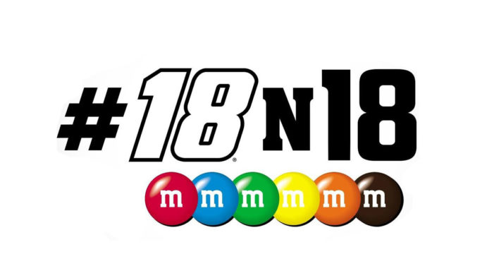 M&M's Racing Asks Fans to Show and Share How they #18n18 for the Chance to Win Sweet Prizes