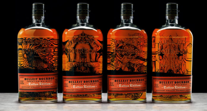 Bulleit Bourbon Gets Inked by America's Top Tattoo Artists for Launch of Limited Edition Bottle Series