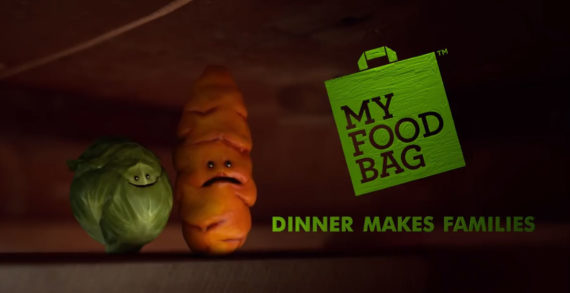 """My Food Bag Unveils Russell the Brussels Sprout in New """"Families Make Dinner, Dinner Makes Families"""" Push"""