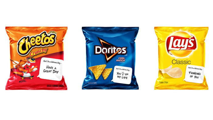 Frito-Lay Variety Packs Invites Parents to Add a Special Touch to Packed Lunches with New Snackable Notes