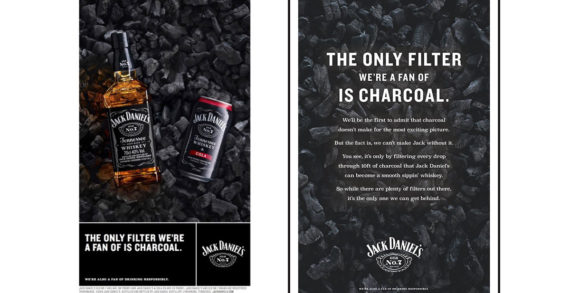 Jack Daniel's Focuses on Charcoal in First Work from M&C Saatchi