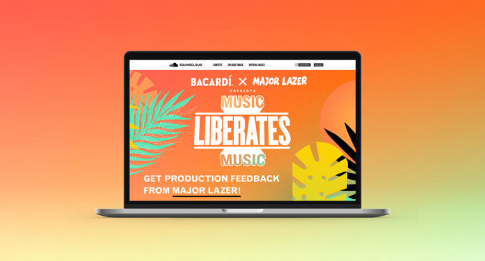 BACARDÍ x Major Lazer Debut Music Liberates Music for the Second Year Running