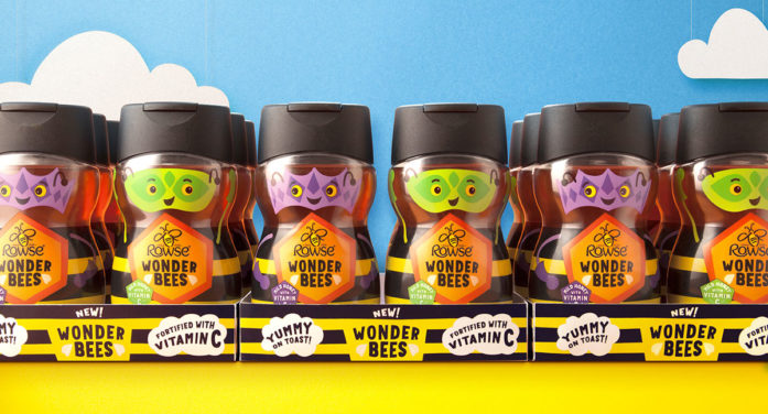 Wonder Bees to the Rescue: BrandOpus Create New Kids Range for Rowse
