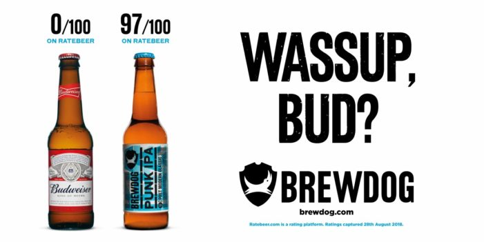 Brewdog Trolls Beer Rivals' Advertising Slogans in Latest Campaign by Isobel
