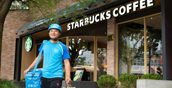 Starbucks and Alibaba Launch Food Delivery and Virtual Stores in China