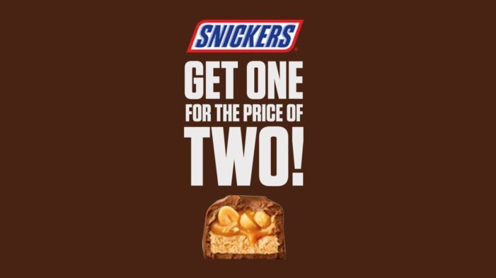 Snickers Offers One for the Price of Two in Latest 'You're Not You' Campaign