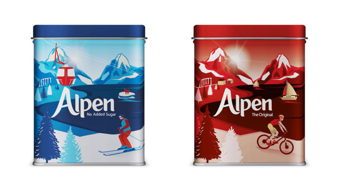 Keep Your Muesli Mountain Fresh with Limited-Edition Alpen Tins