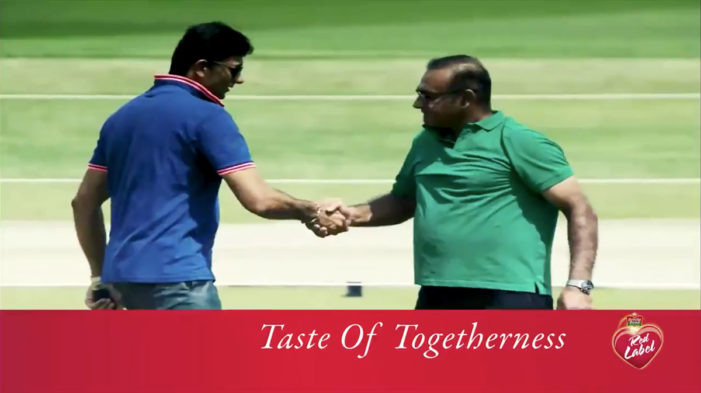 Mindshare Reunites Cricket Rivals Over a Cup of Tea forBrooke Bond Red Label and Star Sports