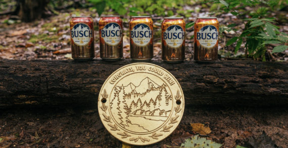 Busch Pushes People Outdoors to Find Free Beer and Help Plant Trees with 'Tree Roll' Campaign