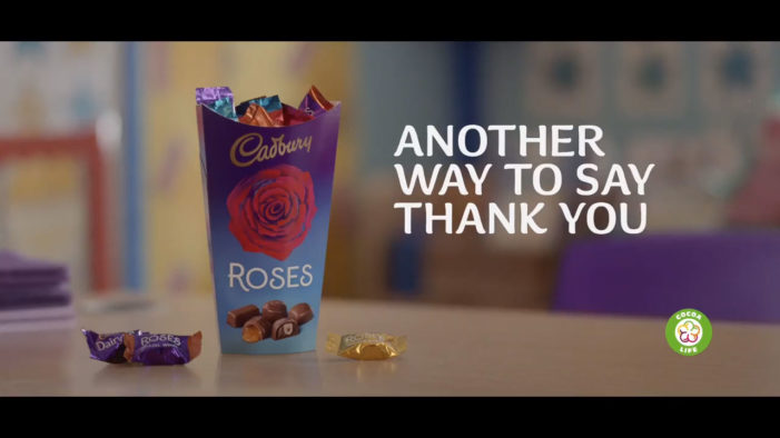Cadbury Roses Returns to Screens, Celebrating Another Way to Say 'Thank You'