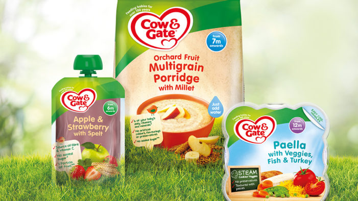 Conran Design Group Unveils Harmonisation Project for Cow & Gate Baby Food Ranges