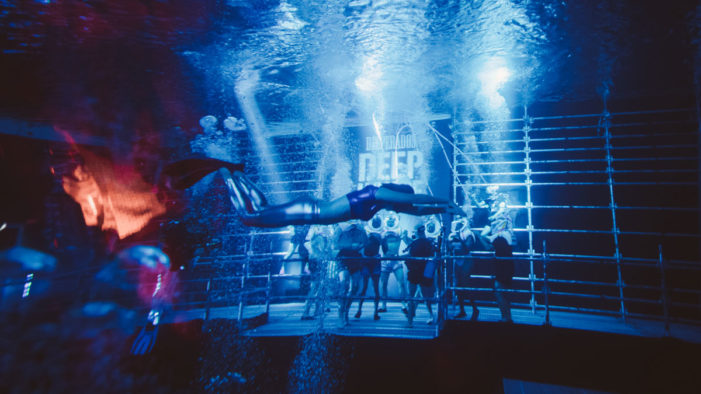 Desperados Creates the World's First Deepest Underwater Dance Floor with DJs Peggy Gou and Artwork