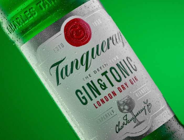 Co-Partnership Provide Timeless Branding For Tanqueray Gin & Tonic