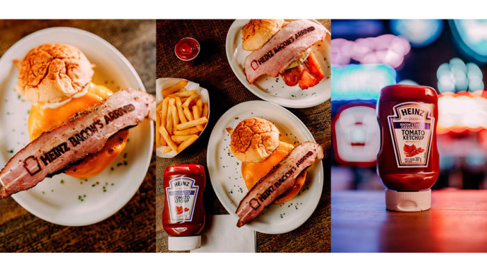 Heinz Innovates with Ad Printed on Bacon to Launch its New Ketchup Flavour in Brazil