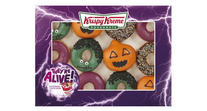 Krispy Kreme and Vimto Team to Create Refreshingly Different Doughnuts