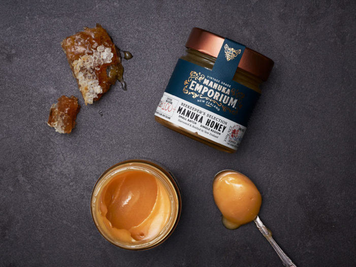Onfire Design Brands New Manuka Honey for New Zealand and Asia Retail