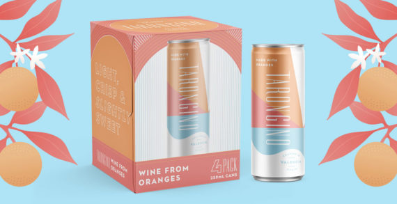 Tarongino Launching in the US Market with Fresh Packaging by Watermark Design