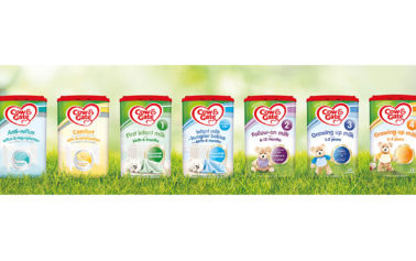 Cow & Gate Makes Strategic Design Move with its New EaZypack Milk Packaging