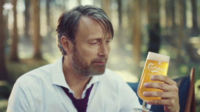 Mads Mikkelsen Unwinds in Carlsberg's Global 'Unfiltered' Campaign by Fold7