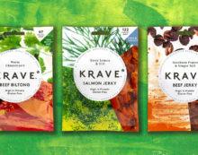 Pearlfisher Provides Branding for Meatsnacks Group's Pioneering New Brand KRAVE