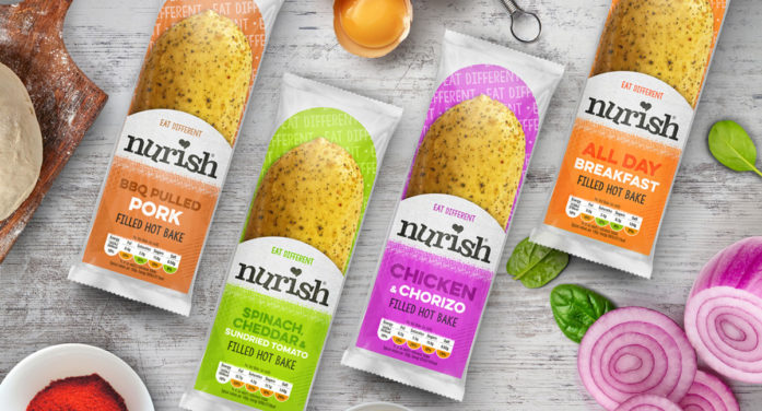 Tidy Provides Branding For Peter's New Low-Fat Baked Snacks Brand, Nurish