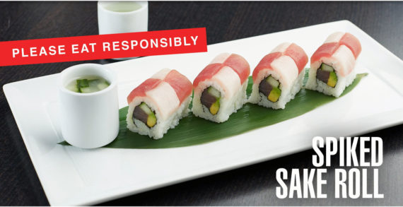RA Sushi Teams with Chemistry to Create First of its Kind Alcohol-Infused Sushi Roll