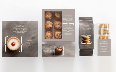 """Waitrose & Partners Unveils New """"Free From"""" Food Range with Branding by Williams Murray Hamm"""