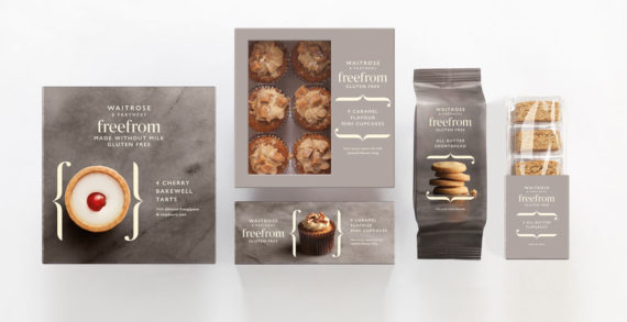 "Waitrose & Partners Unveils New ""Free From"" Food Range with Branding by Williams Murray Hamm"