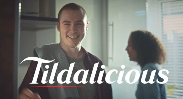Tilda Launches New 'Tildalicious' Advertising Campaign by Havas London