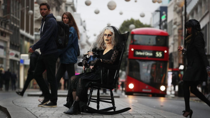 Tube Ghoul Spooks London Commuters to Promote Fanta's Twisted Carnival