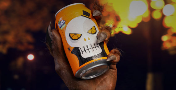 Snapchat Campaign from Fanta Transforms Teens for Halloween