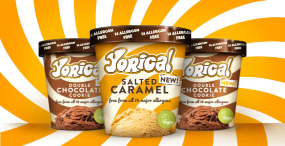 Brandon Gives 'Free-From' Frozen-Treat Brand Yorica! a Supercool New Identity