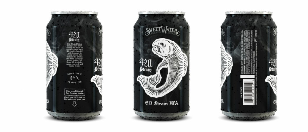 22squared Brands Sweetwater Brewing Company's 420 Strain: G13 IPA