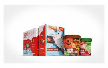 Yasso Frozen Greek Yogurt Unveils New Seasonal Flavours Packaging by Fortnight Collective