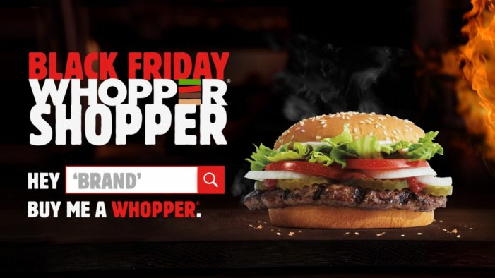 Burger King Makes Other Brands Pay for Your Whopper in Black Friday Banner Campaign