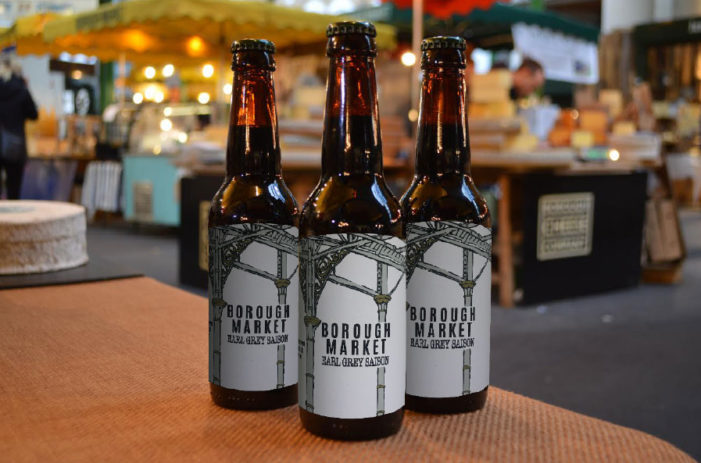 Grown and Brewed in London: Borough Market Releases Limited Edition Seasonal Beer