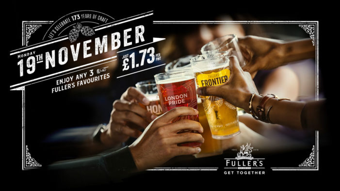 Fuller's Celebrates 173-Years of Brewing with New 'Get Together' Promotion