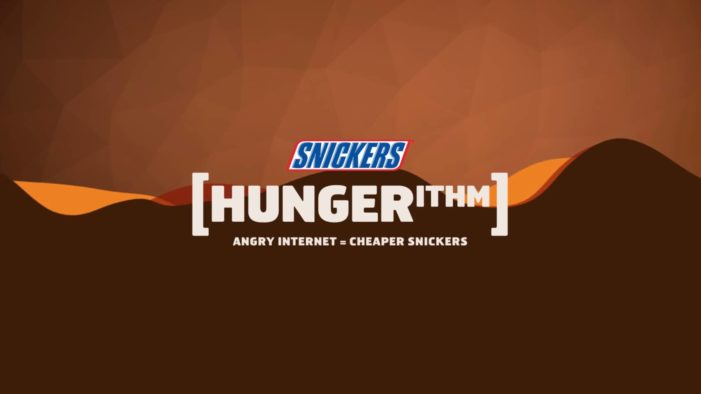 Snickers Brings Back Clemenger BBDO's Award-Winning 'Hungerithm' Promotion at 7-Eleven Stores in the US