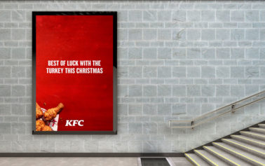 KFC is Standing up for Chicken this Christmas