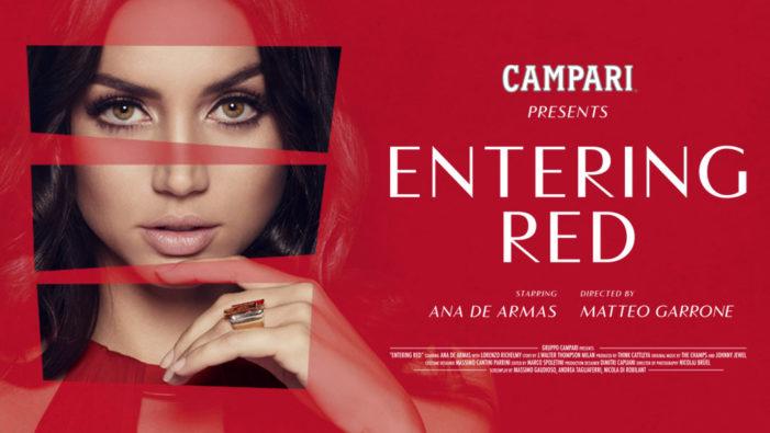 Ana de Armas Revealed as the Star of Campari Red Diaries 2019