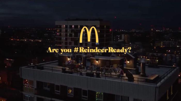 Santa Makes a Detour at McDonald's in their Christmas Ad by Leo Burnett London