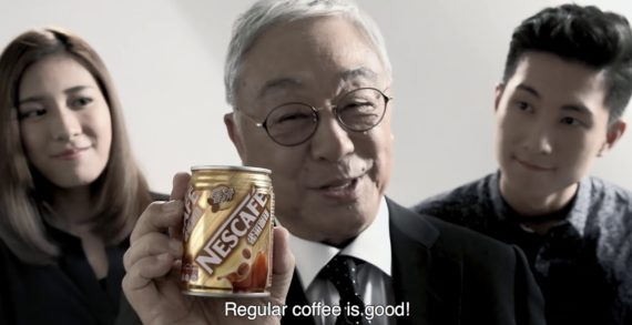 McCann Hong Kong Unveils Nescafé Mild Black Coffee with Ad Featuring Kenneth Tsang