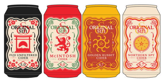 Original Sin Cider Launches a Series of Unfiltered Single Varietal Ciders