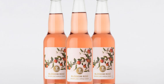 Carlton & United Launches Strongbow Blossom Rosé Sparkling Apple Cider with Design by Denomination