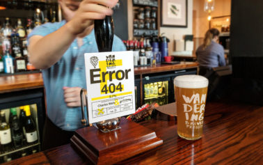 Eat With Your Eyes Brands Wandering Brewer Project's ERROR 404 Offering
