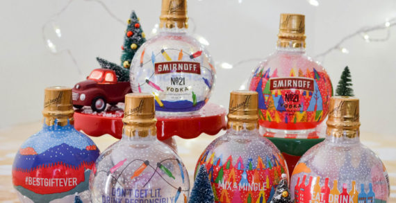 Smirnoff Released Vodka-Filled Ornaments to Dress up Your Tree Over the Holidays