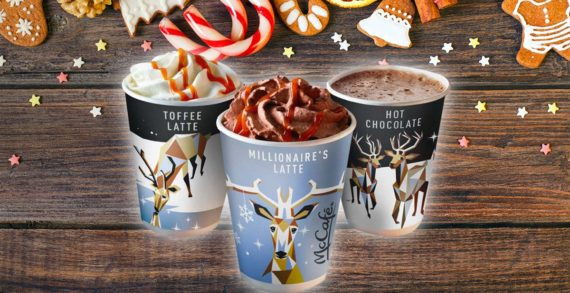 McDonald's Launches a Christmas Latte Inspired by Millionaire's Shortbread